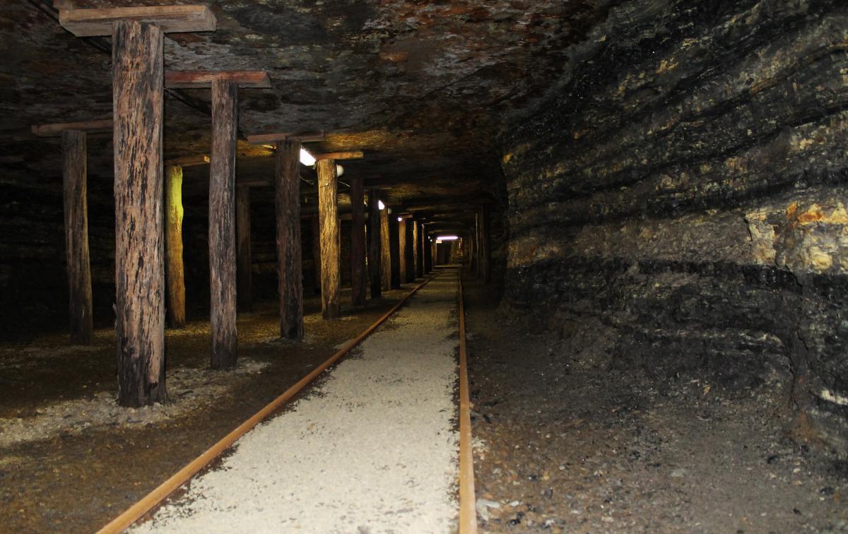 Imagem de uma mina